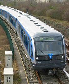 C-Zug 610 kurz vor Garching-Hochbrück