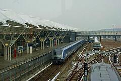 C2-Zug 701 bei einer der ersten Fahrten im Betriebshof Fröttmaning