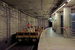 U-Bahnhof Sendlinger Tor: Bauarbeiten und eingleisiger Pendelbetrieb