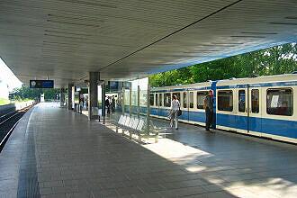 Bahnhof Freimann vor dem Umbau