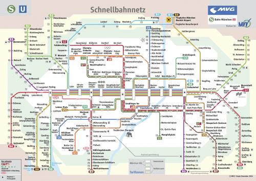 Schnellbahnnetzplan Dezember 2016