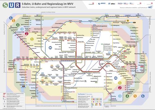 Schnellbahnnetzplan Dezember 2019