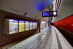 U-Bahnhof Trudering Gleis 2