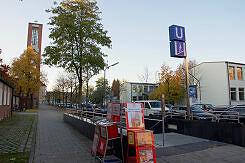 Zugang Fromundstraße zum U-Bahnhof Wettersteinplatz