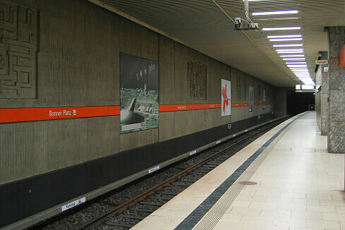 Bonner Platz Gleis 1