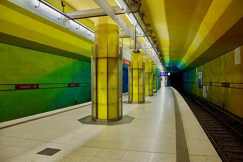 Candidplatz Gleis 1
