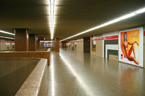 Sperrengeschoss in Giesing (Bahnhof)