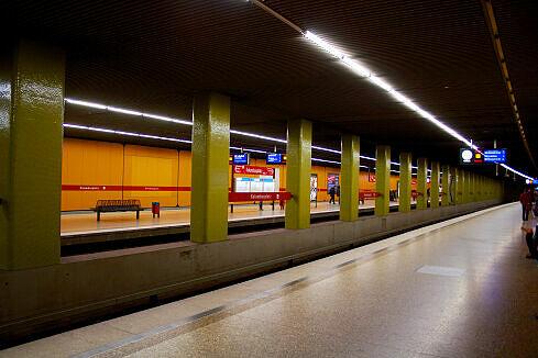 U-Bahnhof Kolumbusplatz