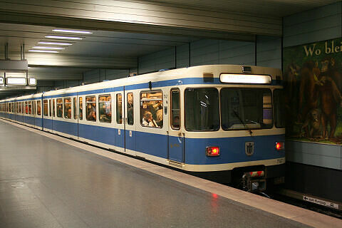 A-Wagen 147 am Goetheplatz