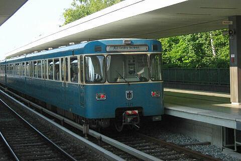 A-Wagen 225 am Kieferngarten