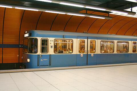A-Wagen 314 am Marienplatz