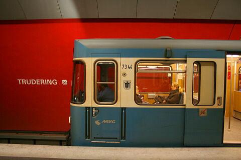 A-Wagen 344 in Trudering