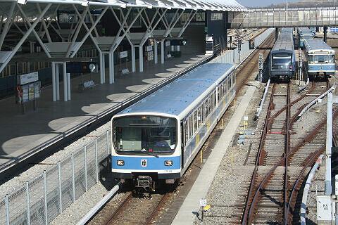B-Wagen 509 im Betriebshof Nord