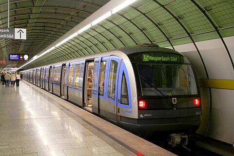 C-Zug 618 am Odeonsplatz