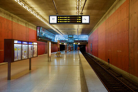 U-Bahnhof Messestadt West