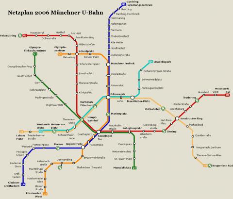 Netzplan Stand 31.12.2006