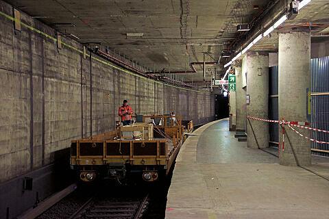 Sendlinger Tor: Bauarbeiten und eingleisiger Pendelbetrieb