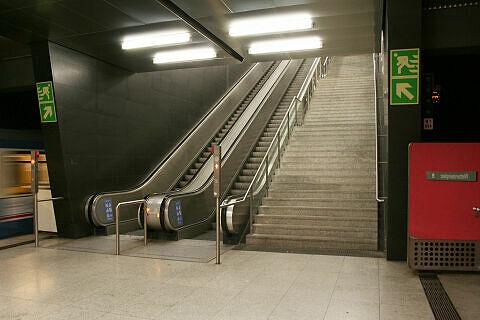 südöstlicher Aufgang am Wettersteinplatz