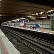 Implerstraße Bahnsteig Gleis 1 und 3