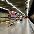 U-Bahnhof Rotkreuzplatz mit Bahnsteigkiosk