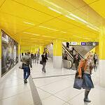 Sendlinger Tor, Bahnsteig U1/U2 nach dem Umbau